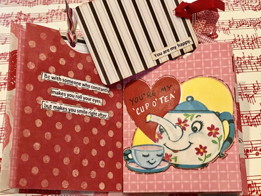 Cute Retro Teapot Collage