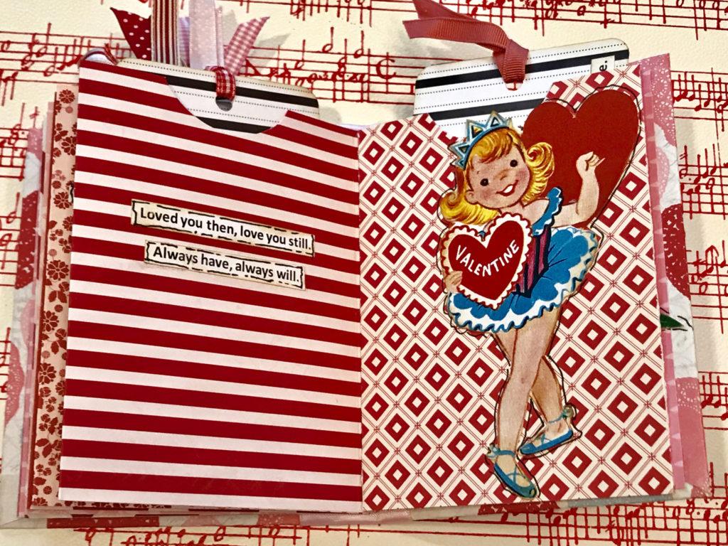 Retro Valentine Collage