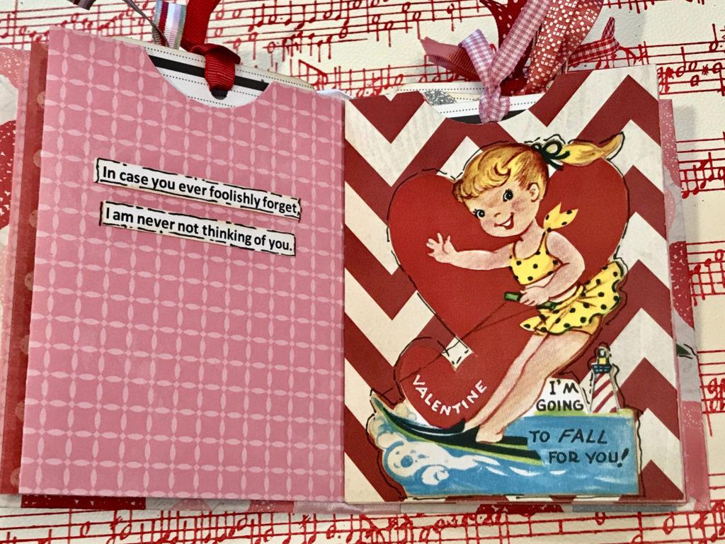 Vintage Ephemera Valentine Page