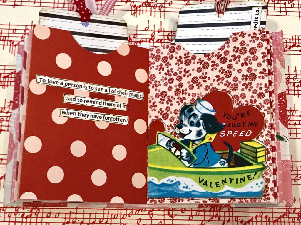 Mini Valentine Book Craft