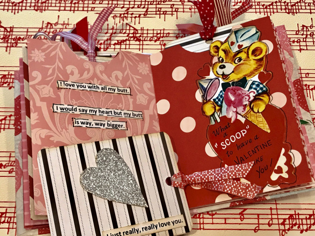 Valentine Book with quotes