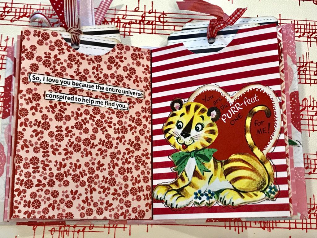 Vintage Valentine Junk Journal