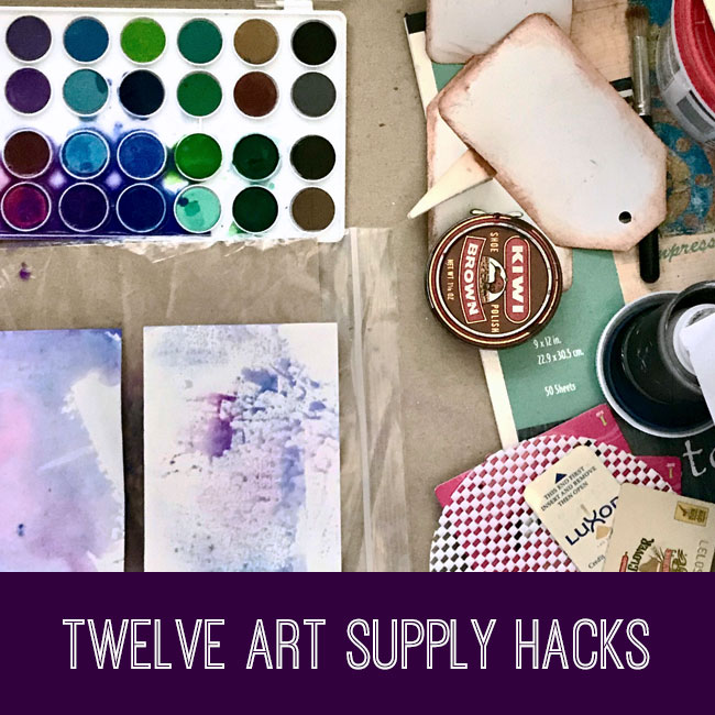 craft tutorial twelve art supply hacks