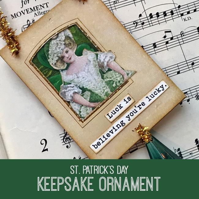 St Patrick's Day Keepsake Ornament