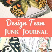 Design Team Junk Journal Terri Kolte