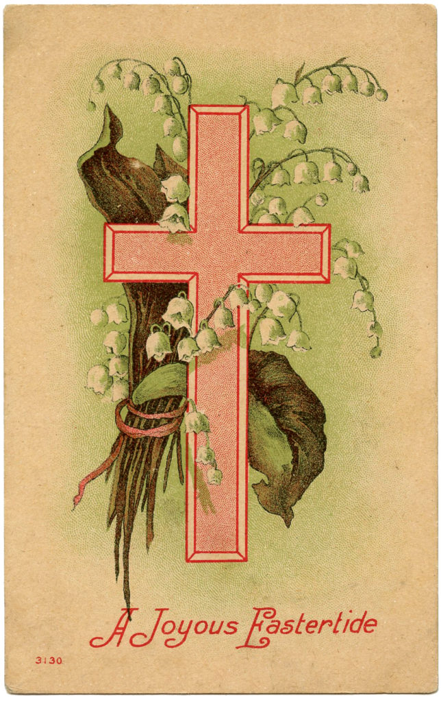 Easter Cross Lily of the Valley