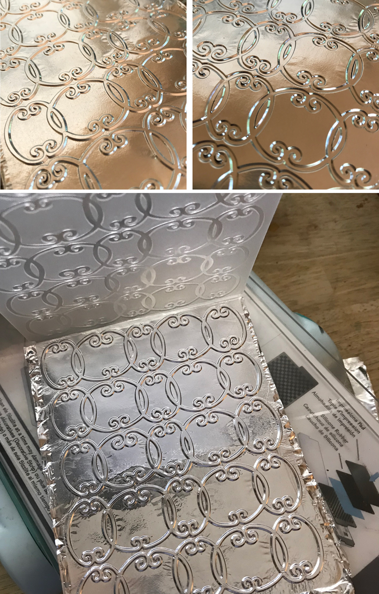 Embossed Layered Foil Examples