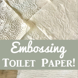Embossing Toilet Paper