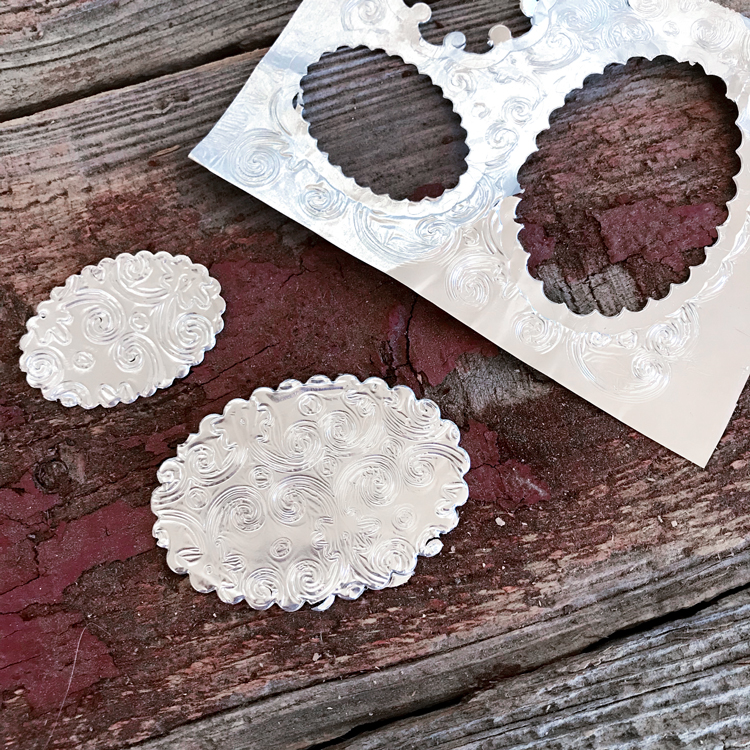 Embossed Foil Die Cuts