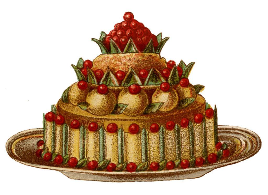 french dessert berries image