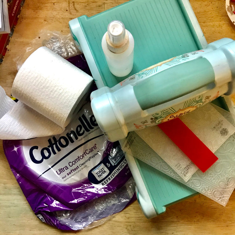 Materials for Embossing Toilet Paper