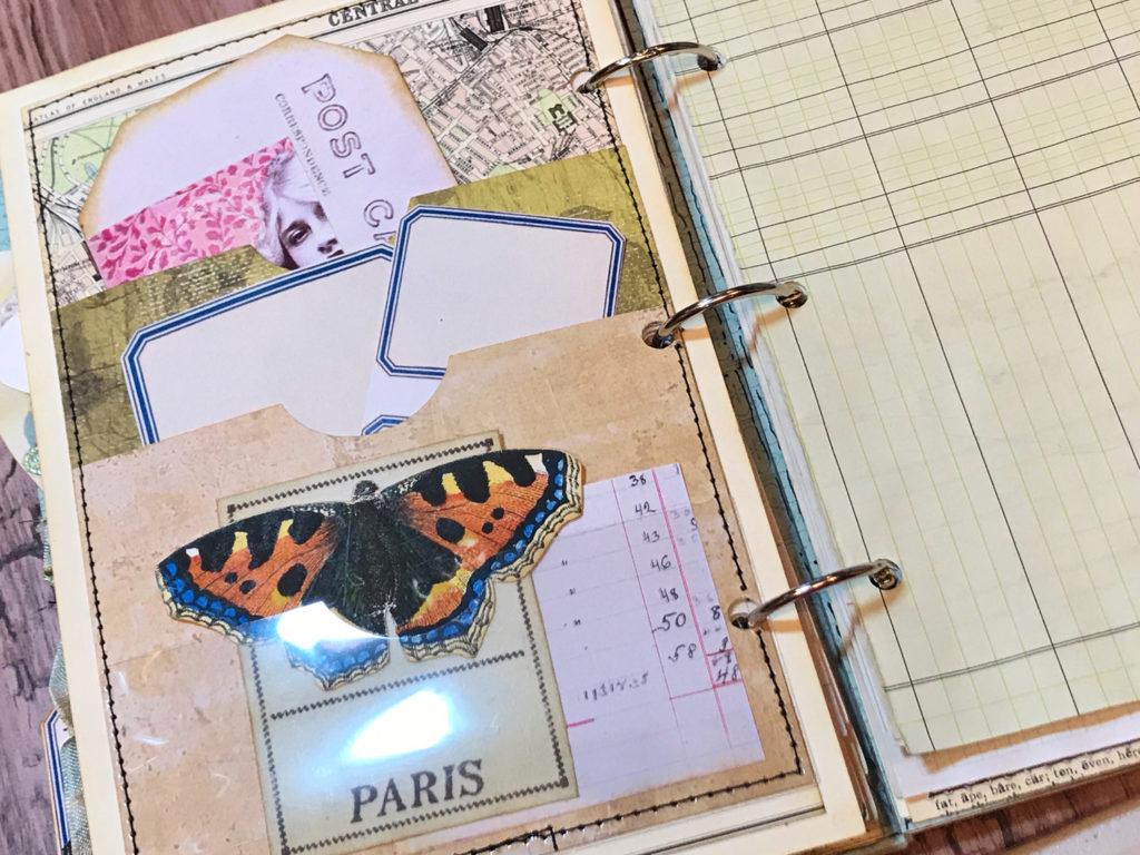 Journal Page Paper Ephemera
