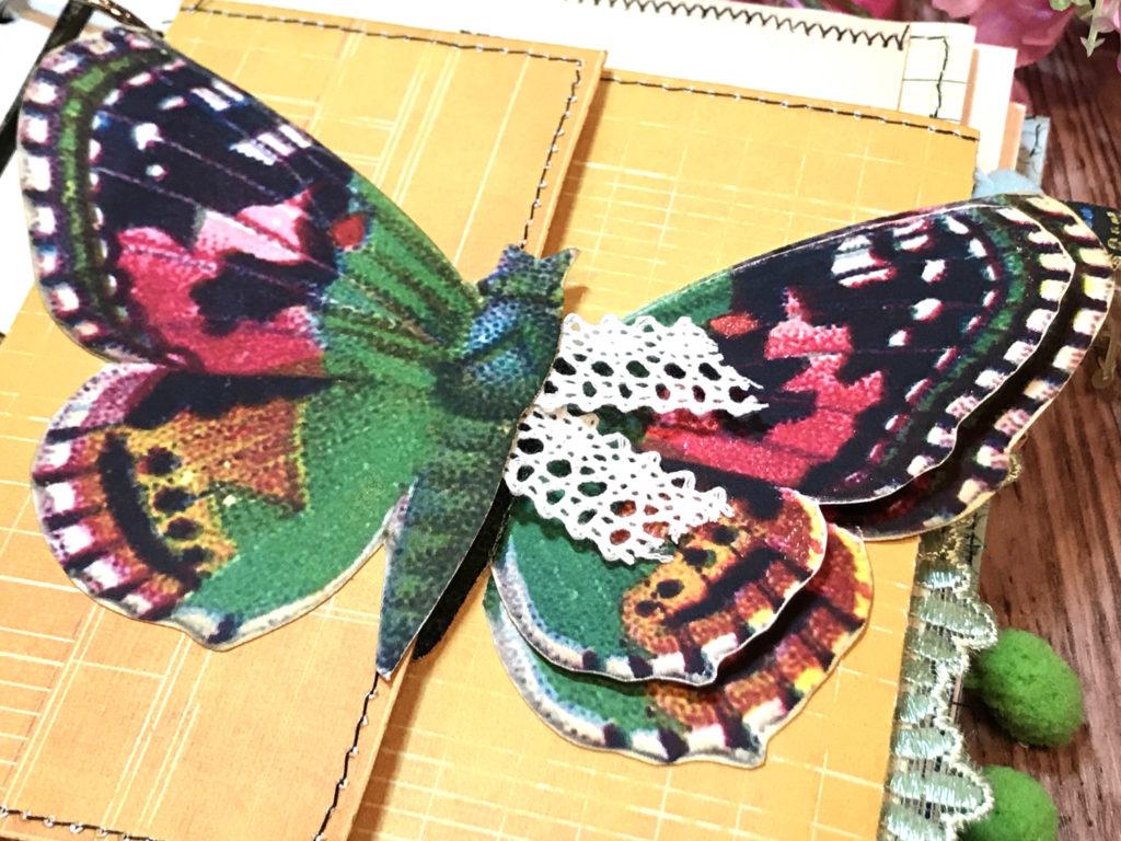 Colorful Moth Vintage Image