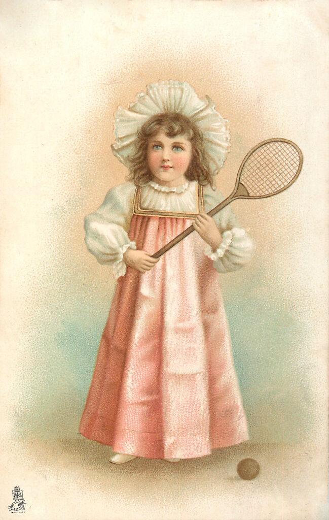 Tennis Girl Image