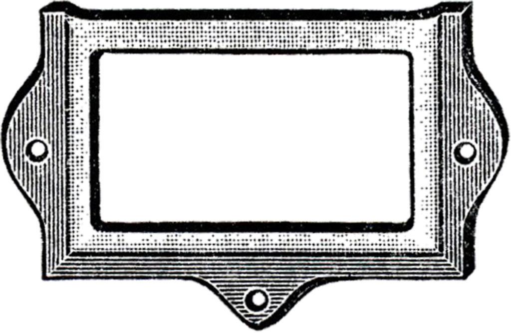 Vintage Metal Frame Image