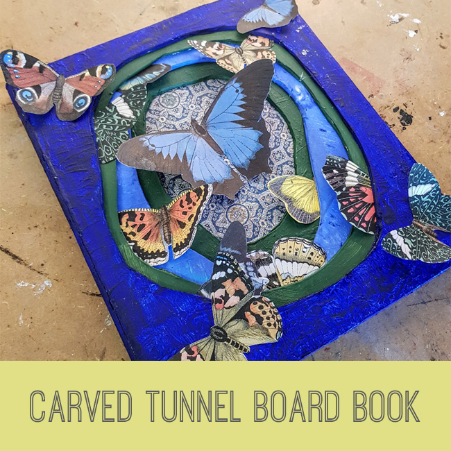 carved tunnel board book tutorial