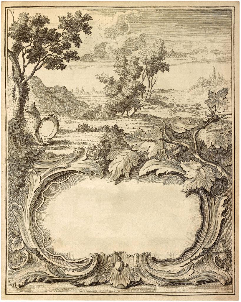 landscape frame title page image