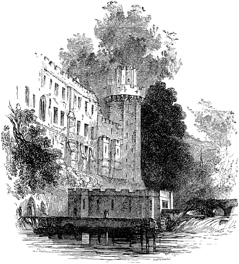 Castle Engraving Picture