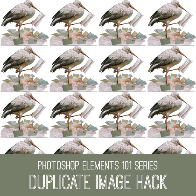 PSE Tutorial Duplicate Image Hack
