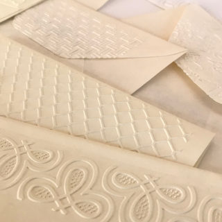 Embossed Envelope Flaps Close 1