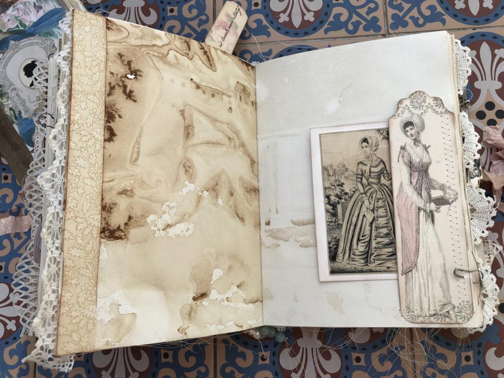 Jane Austen Bookmark tuck spot
