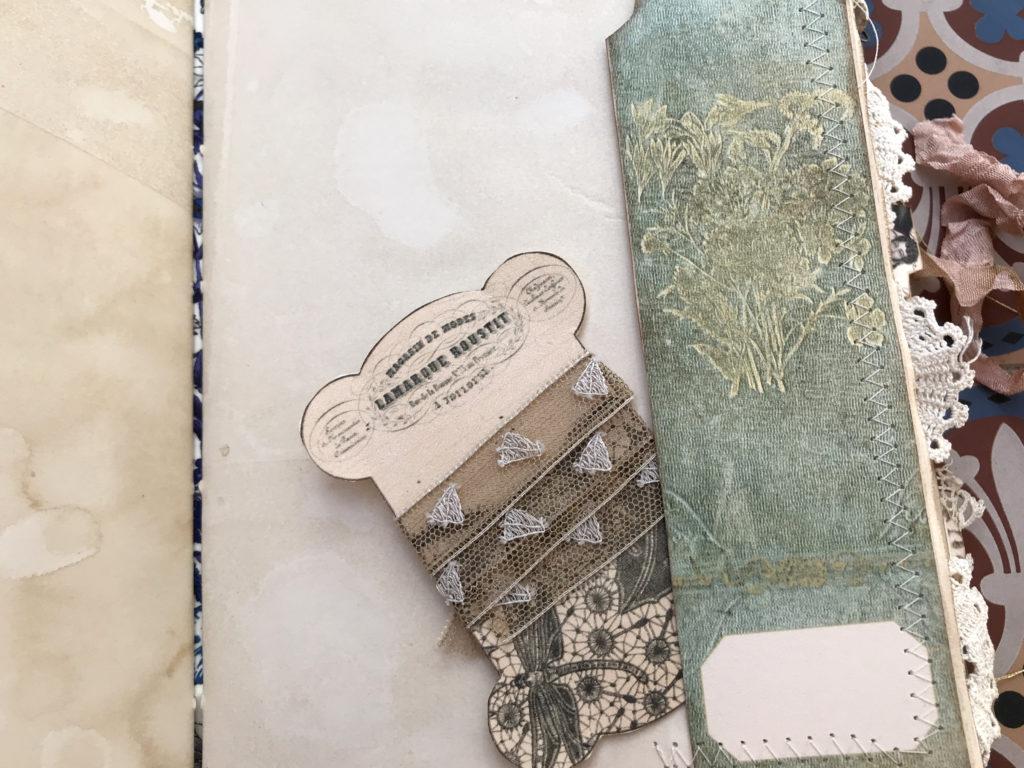 bookmark tuck spot