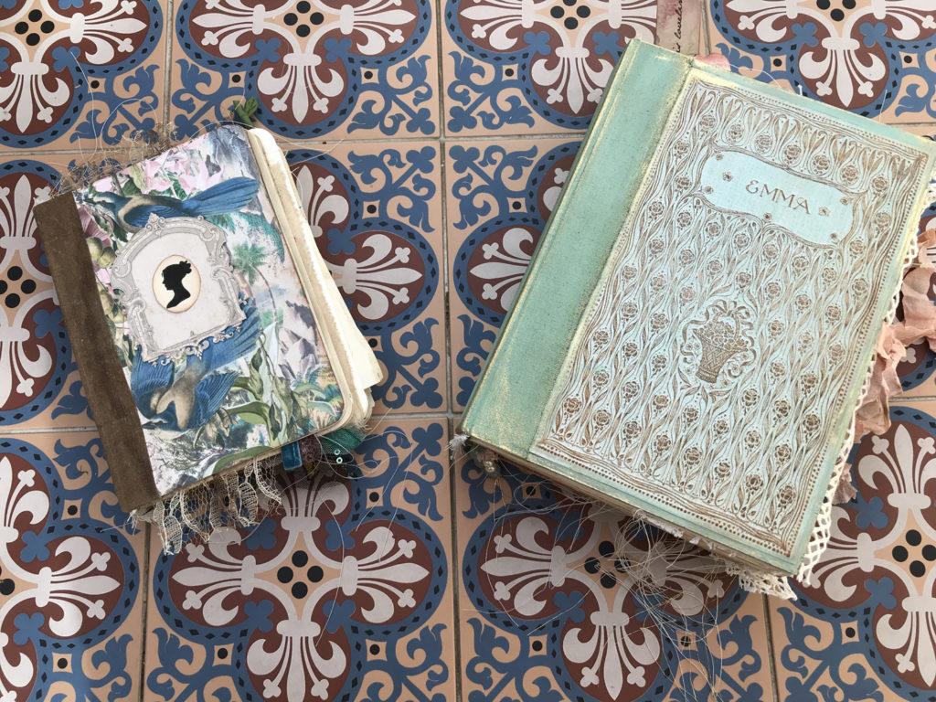 Emma Junk Journal Cover mini idea notebook