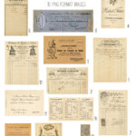 vintage french paperie collection ephemera digital image bundle