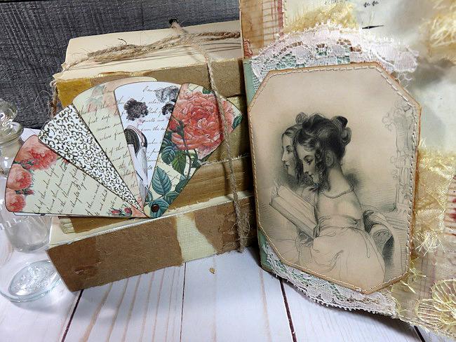 Regency Journal Folding Fan