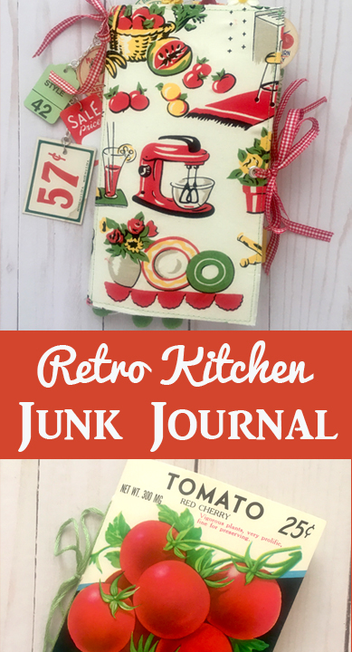 Retro Kitchen Junk Journal Beth's Journal Boutique