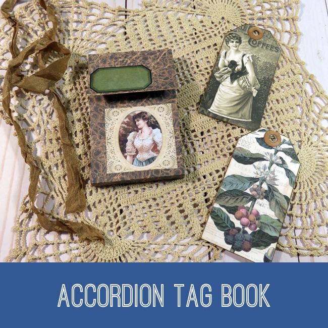 Accordian Tag Book Tutorial