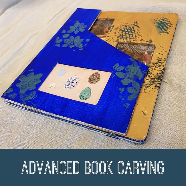 Advanced Book Carving Tutorial