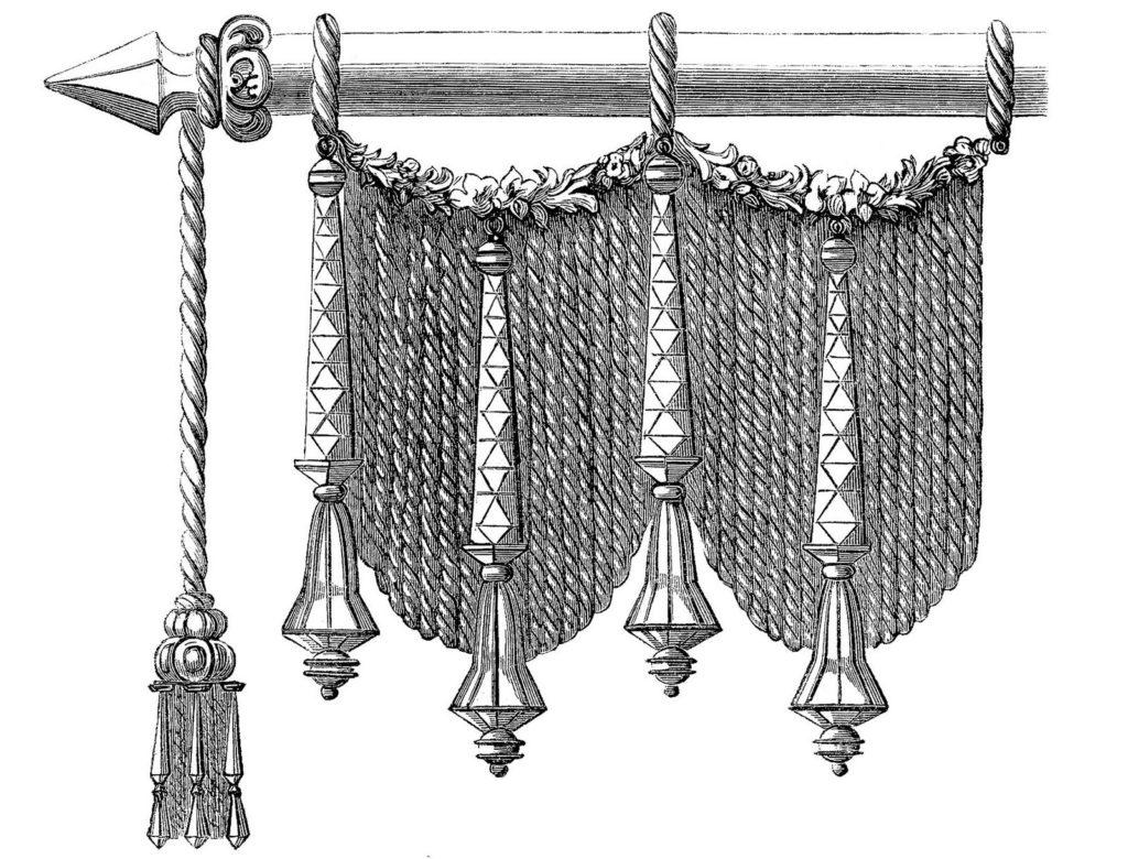 Victorian drape tassel image