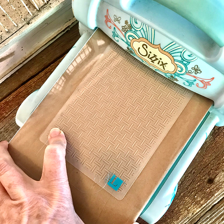 Lay Bag and Folder on Machine