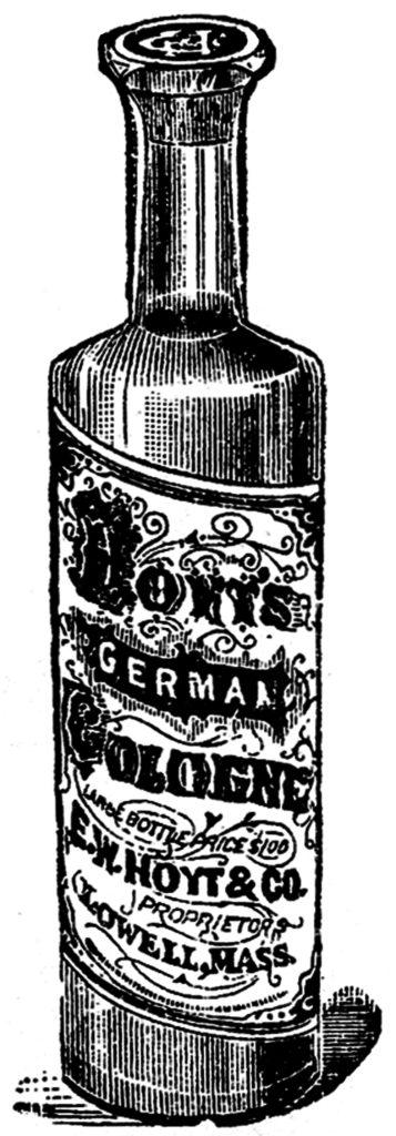 Antique Cologne Bottle