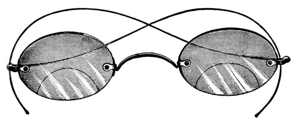 bifocal eyeglasses illustration