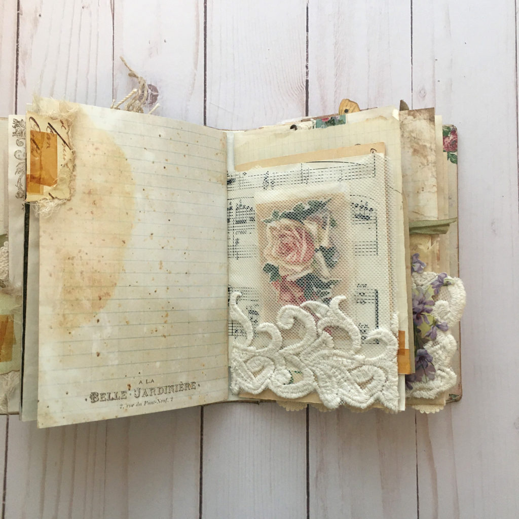 Junk Journal Page Lace Trim