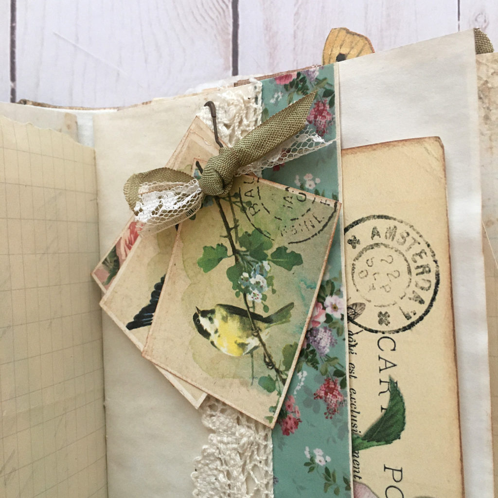 Botanical Junk Journal Embellishments