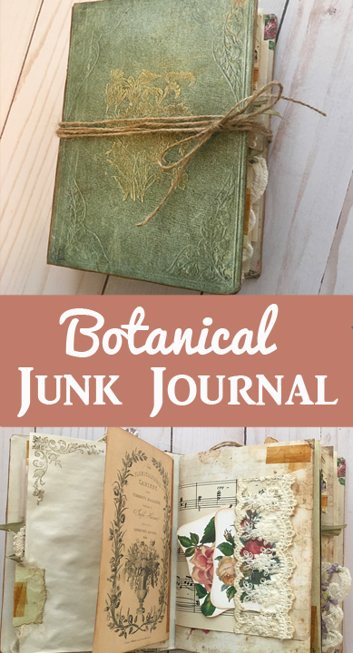 Botanical Junk Journal Beth Wallen