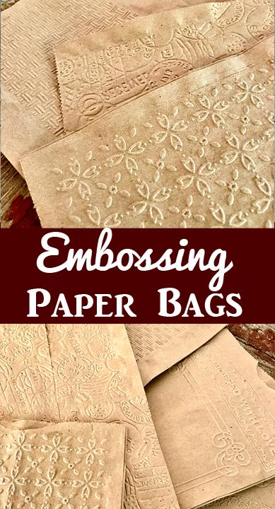 Embossing Paper Bags