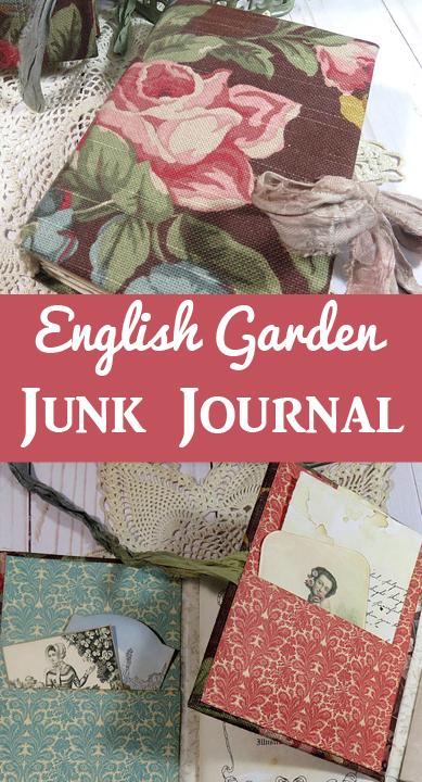 English Garden Junk Journal