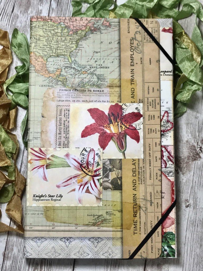 Spring Junk Journal cover