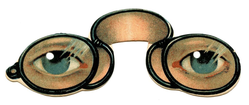 spectacles eyes antique image