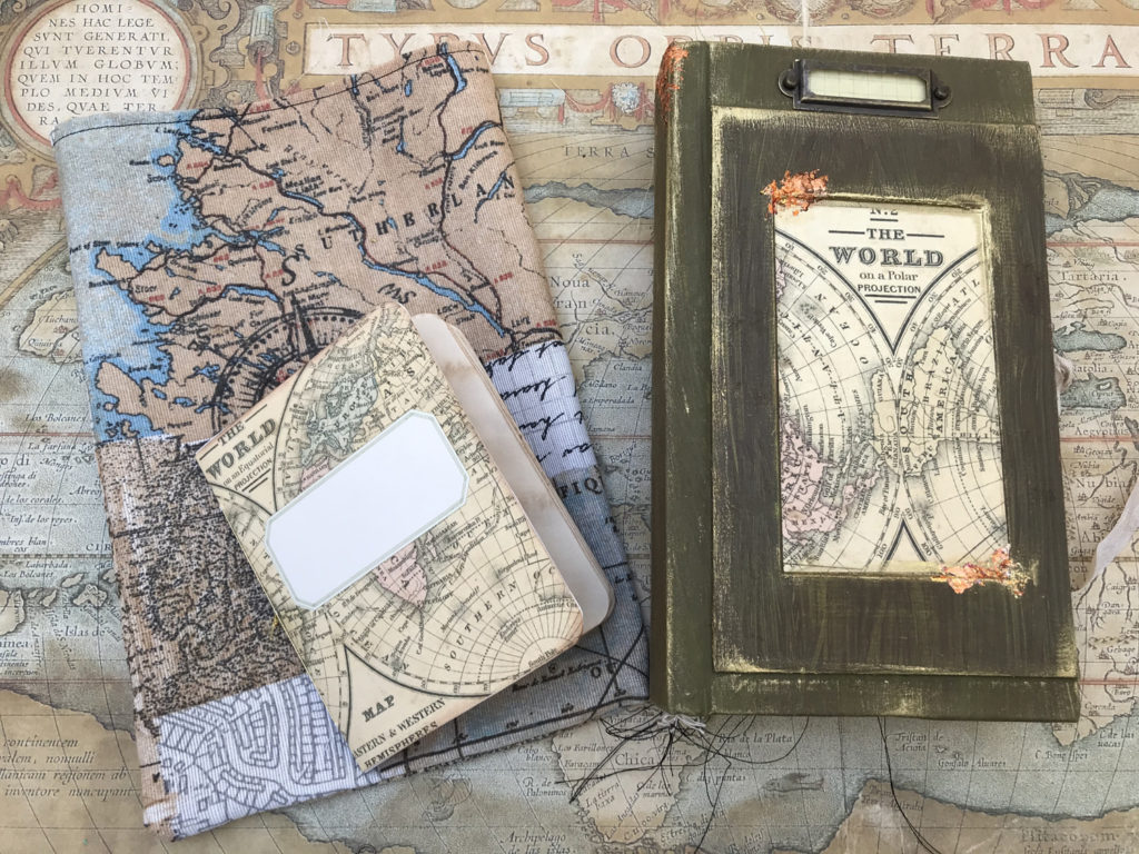 forest theme Green sea colored planner charm handmade traveler notebook fairy