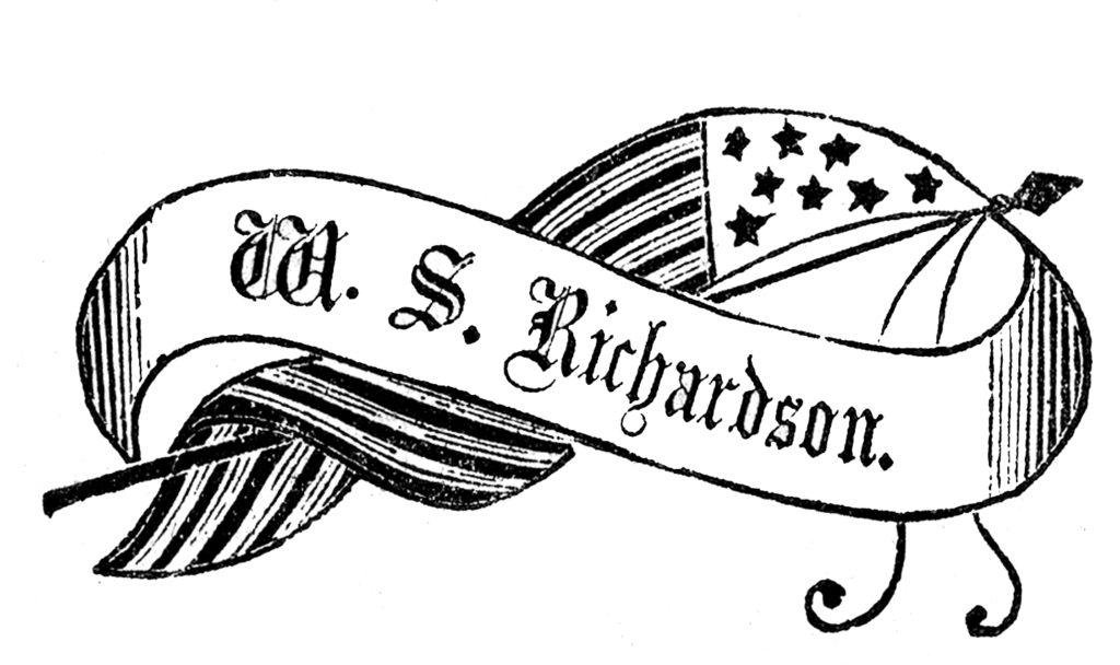flag banner patriotic advertising image