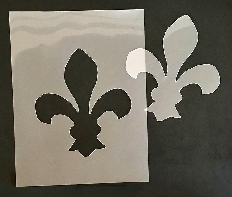 Hand Cut DIY Stencil