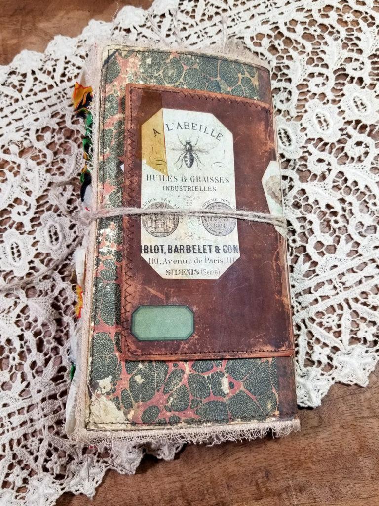 Naturalist's Junk Journal back cover