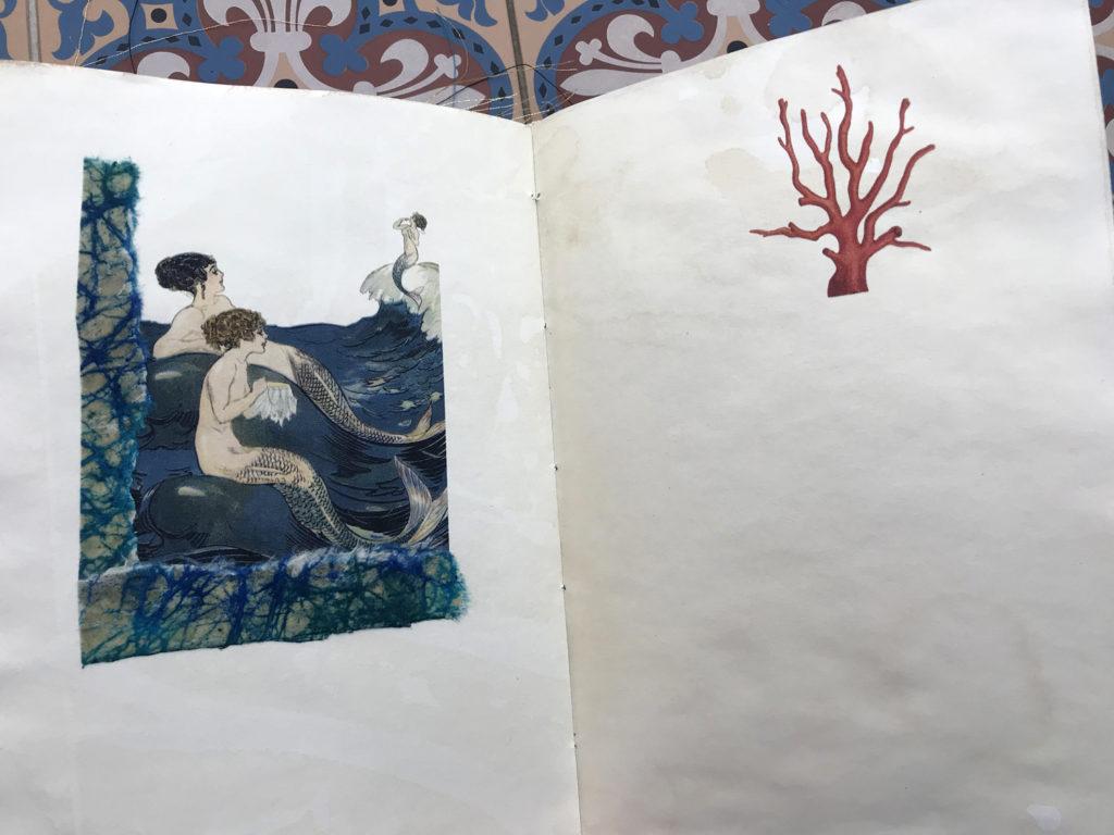 Mermaids coral pages