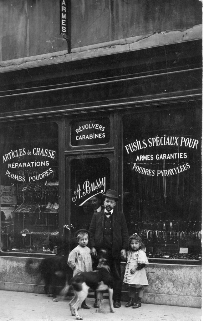 old photo french shop image
