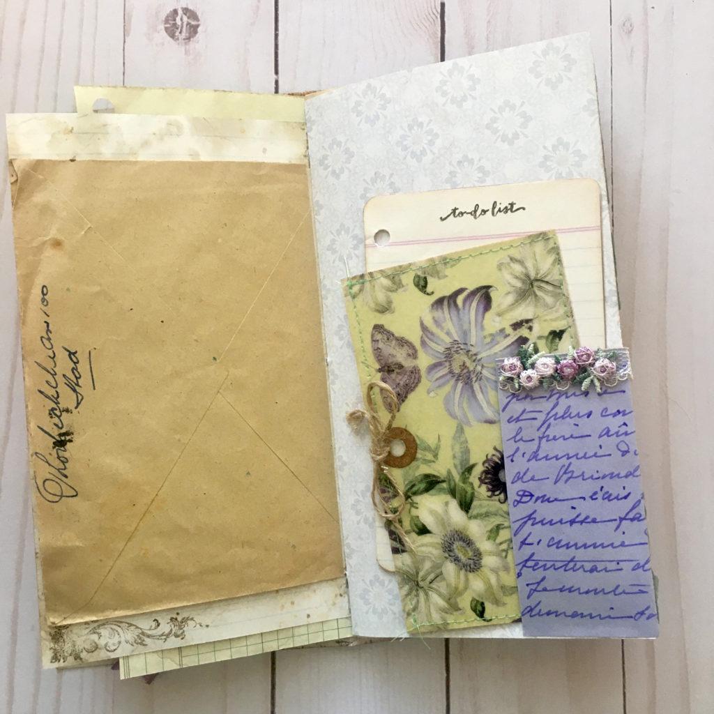 Vintage Envelope Junk Journal